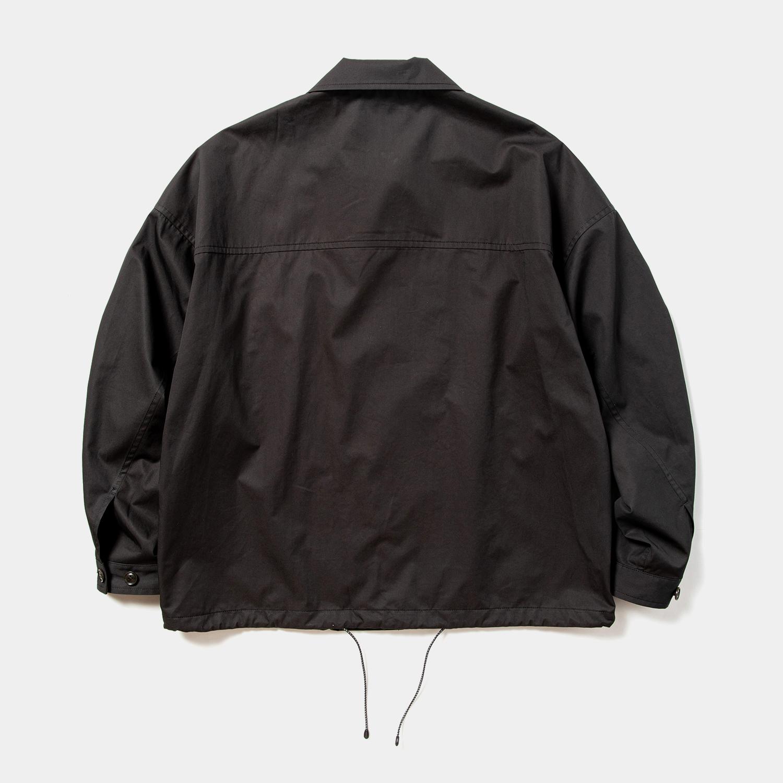 High Density Gabardine Coach JKT / Off Black