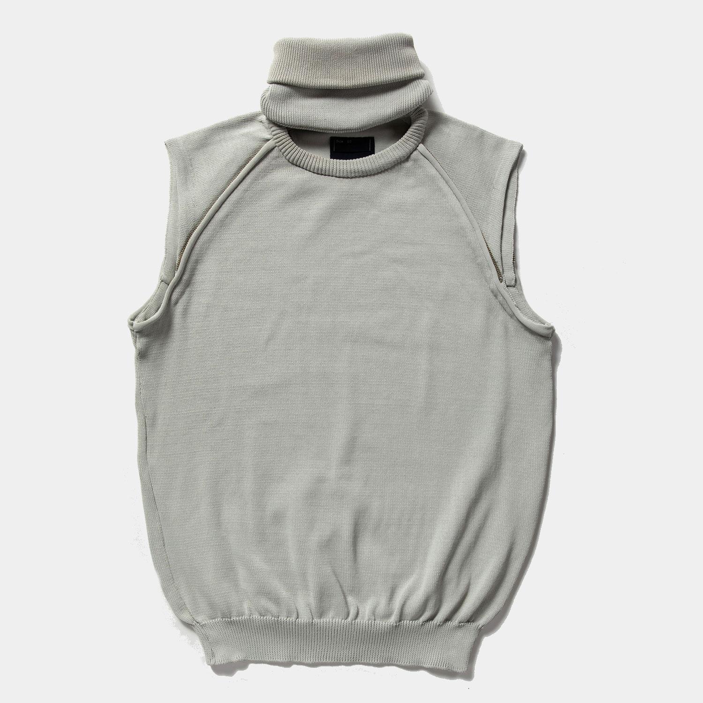 Water-Repellent Detachable Knit / Grey