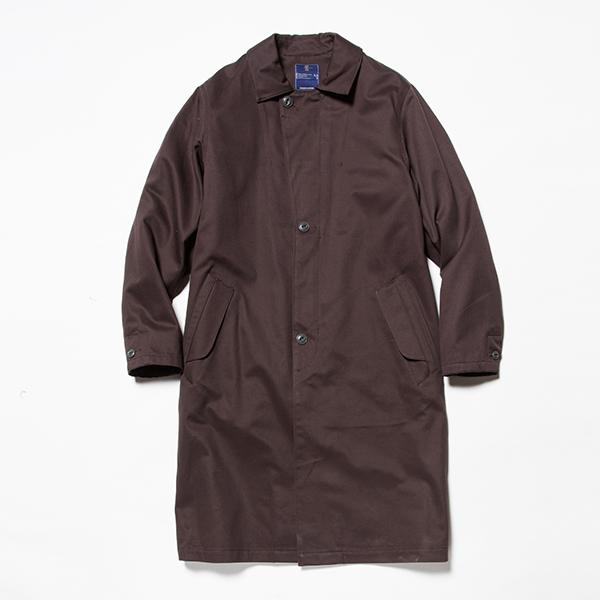 Cotton Chino Overcoat