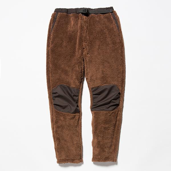 Behavior Fleece Pants Brown