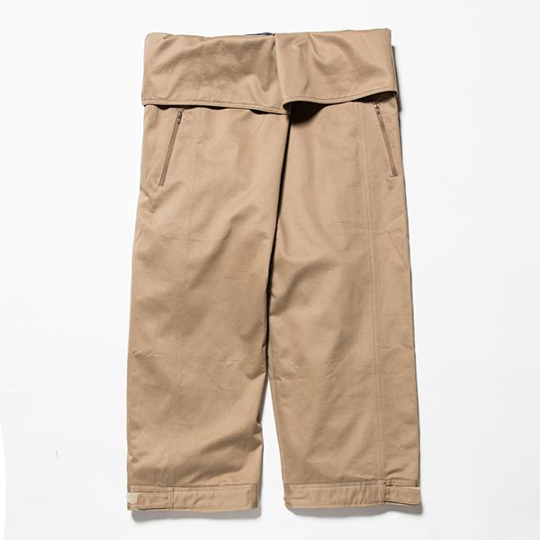 Cotton Chino Wrap Pant