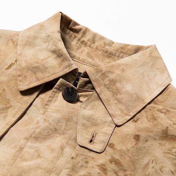 """Dyed Camo """"Tombi"""" Coat/L4 Sand"""