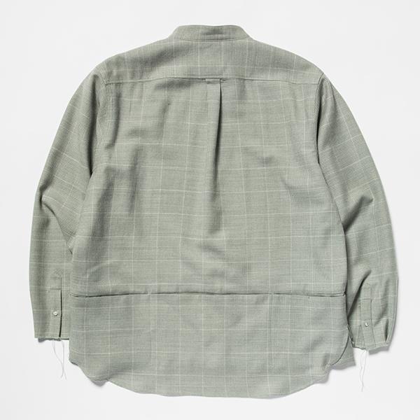 Tech Wool Packable SH / Pale Green