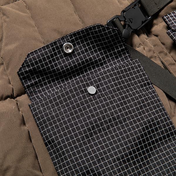Peach Cloth Down Vest/L6