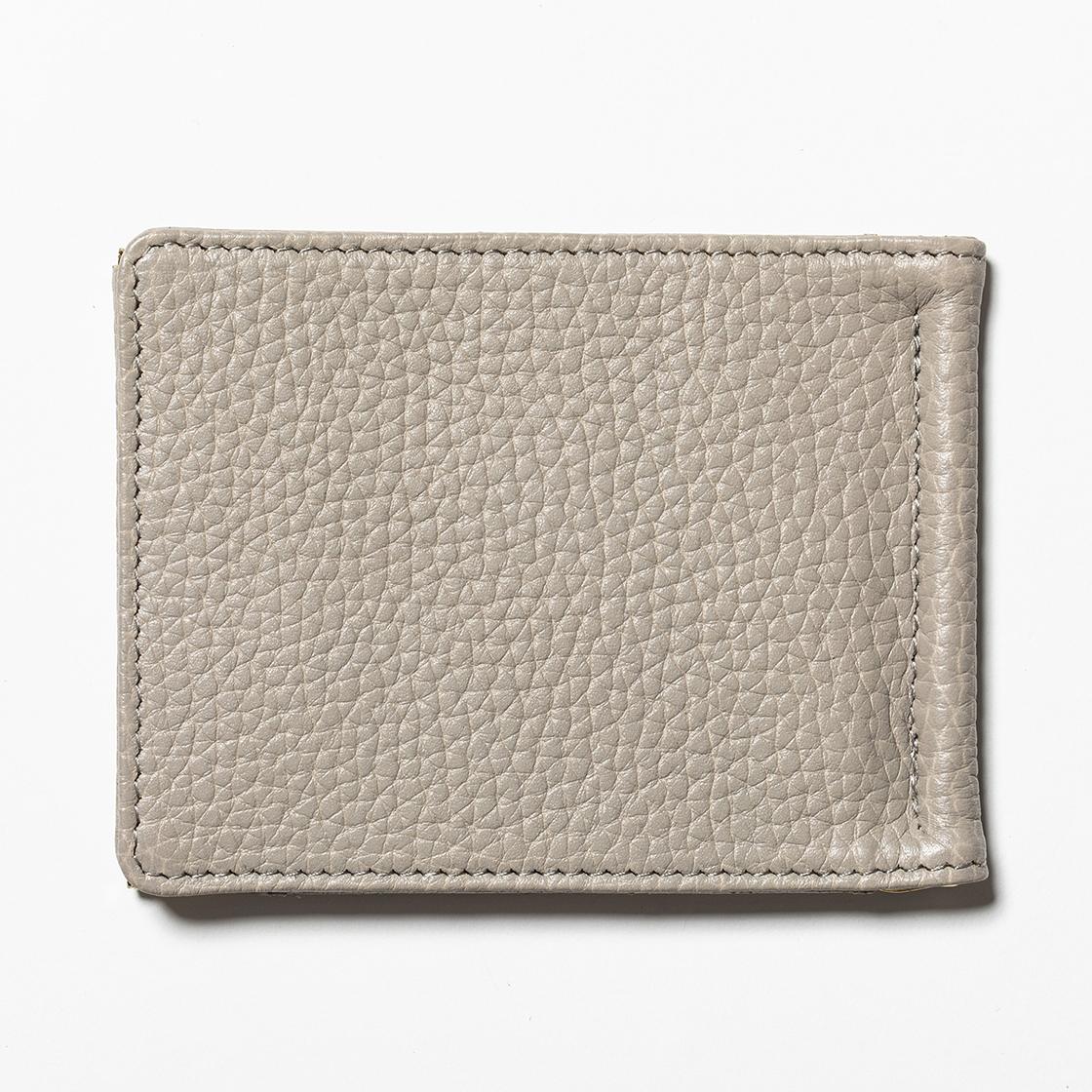 Leather Money Clip Sand