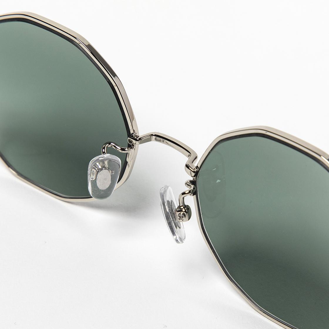 Transition Color Glass Black/Green