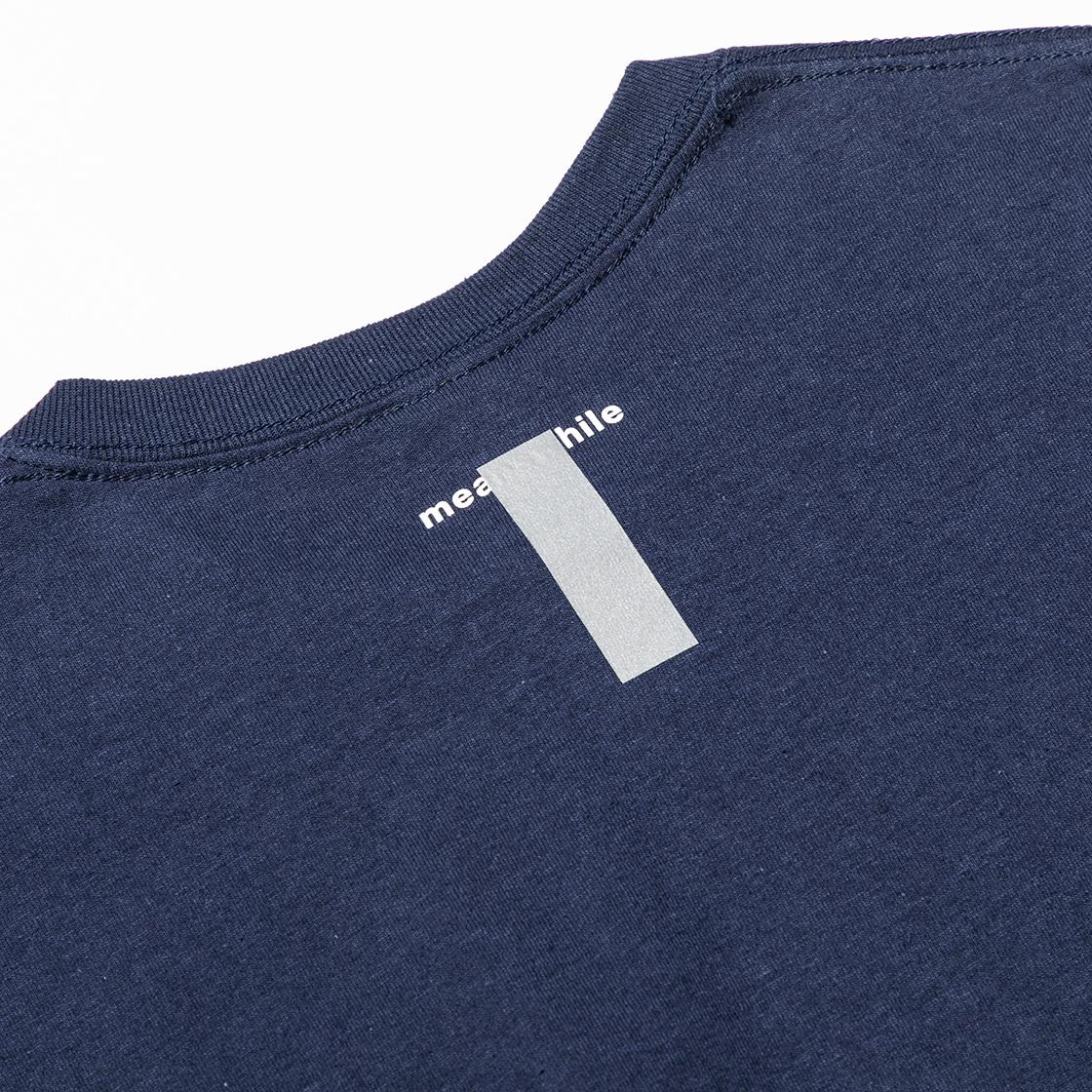 Lenticular Reflect Logo Tee Navy