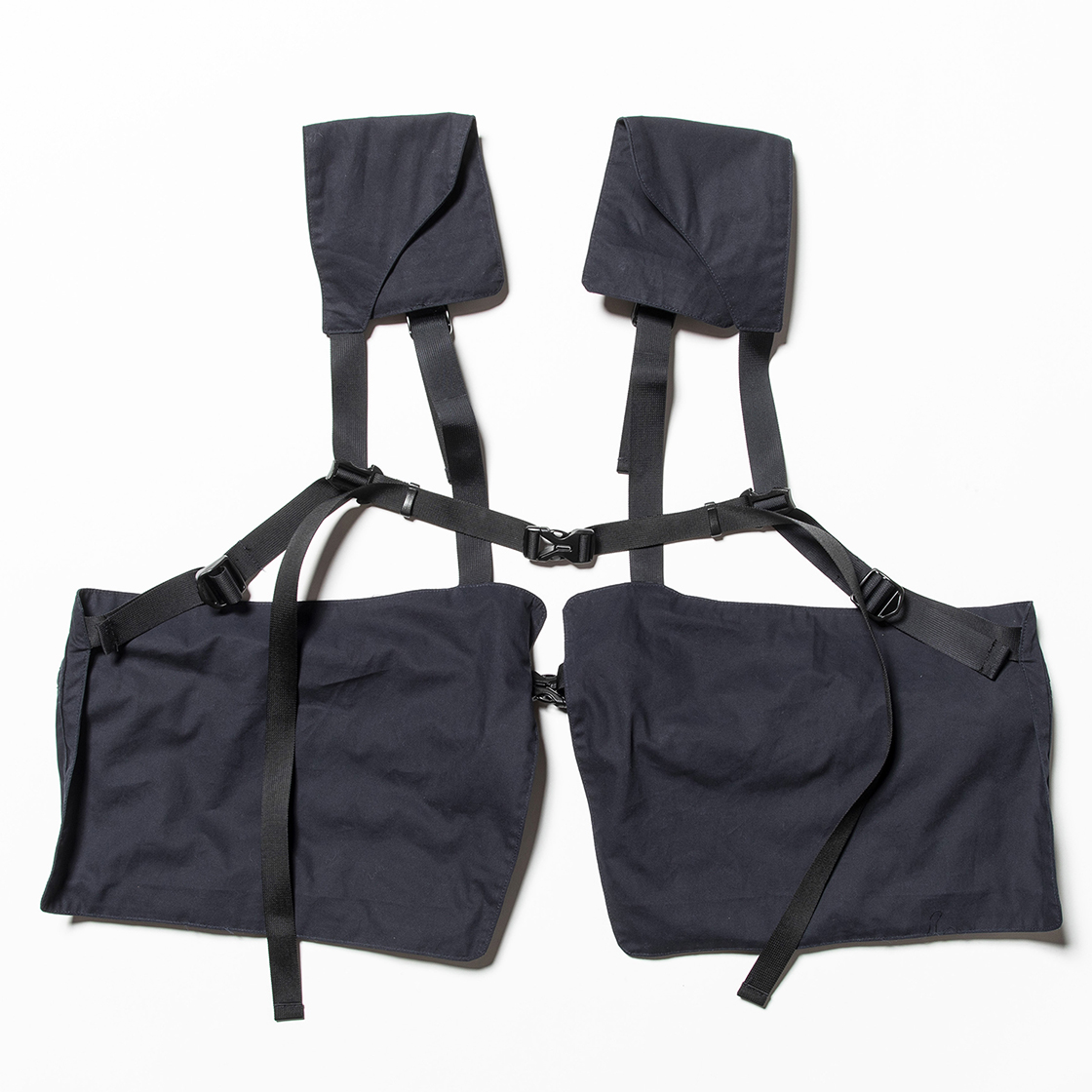 Split Luggage Vest Navy