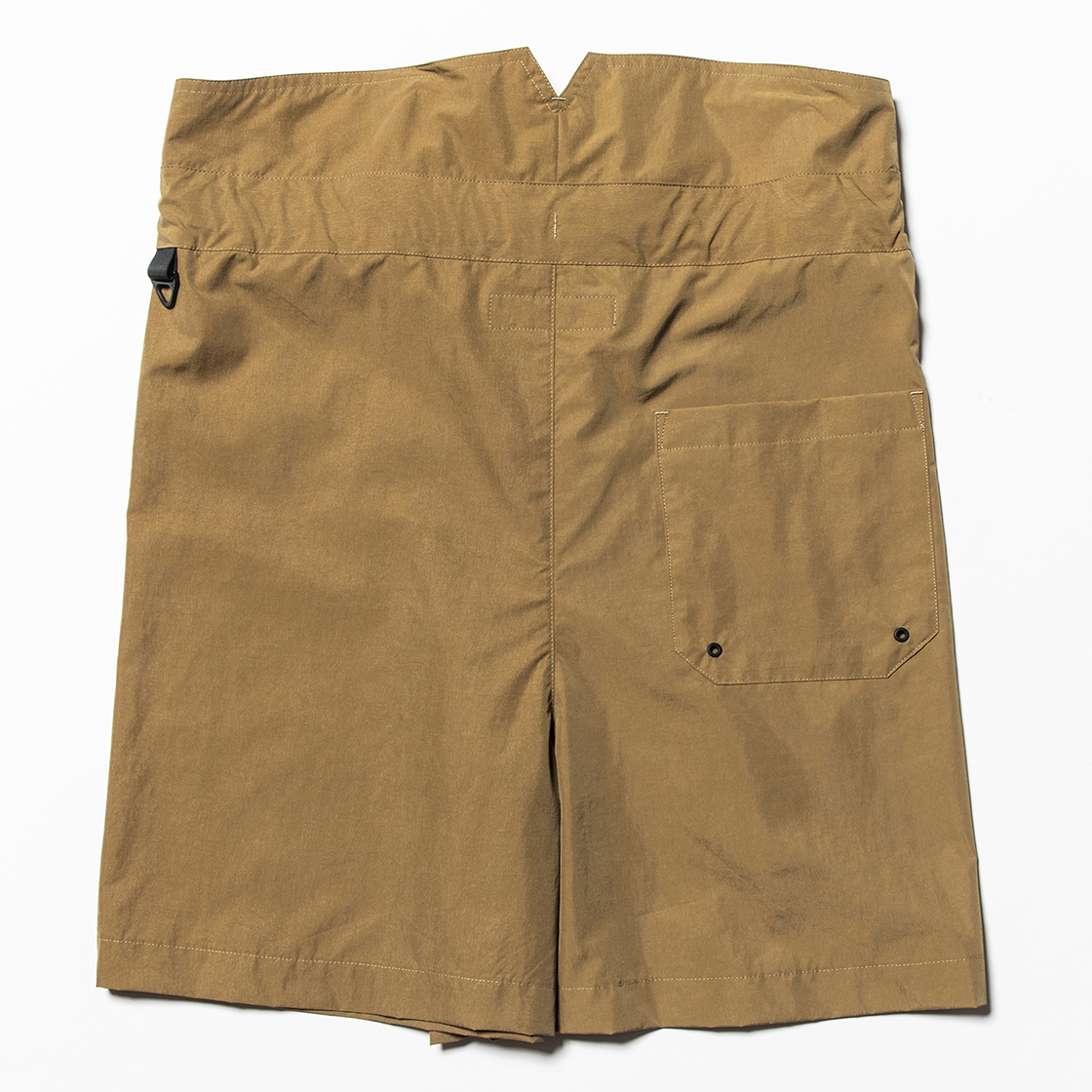Nylon Wrap Board Shorts Coyote