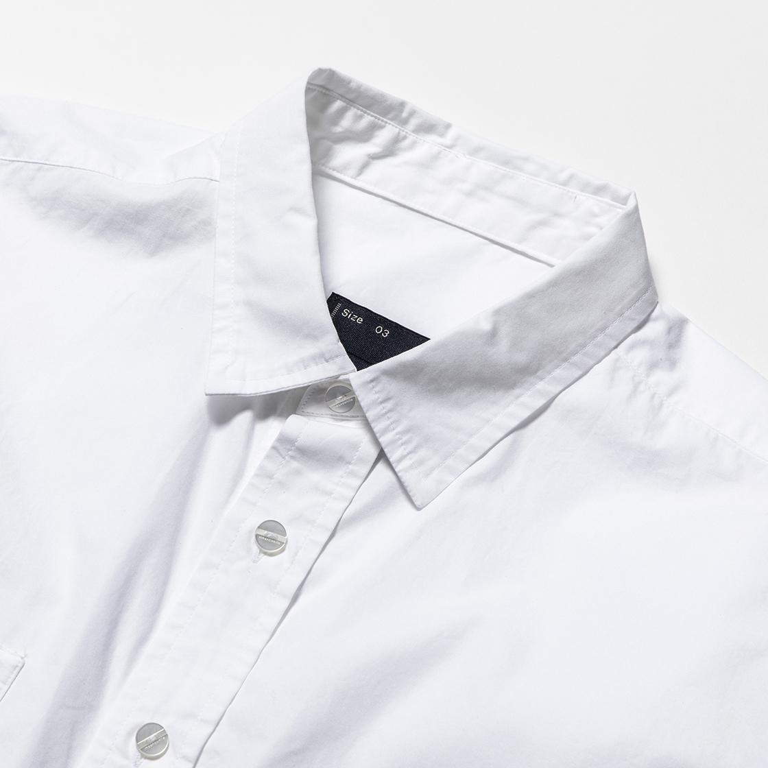 Imperial Poplin S/S White