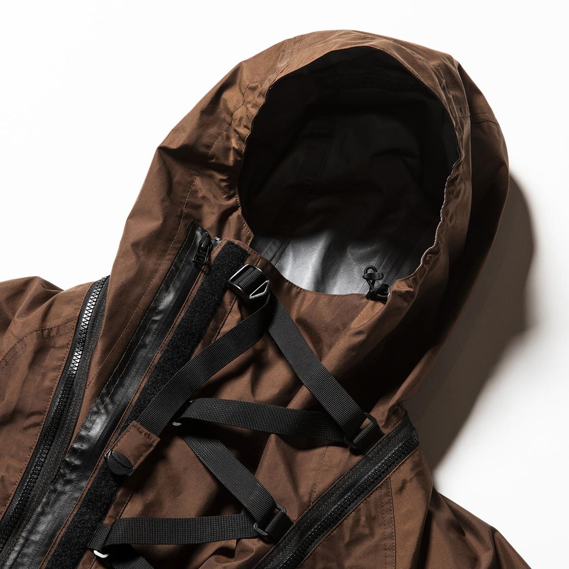 3 Layer Detachable Anorak OP Brown