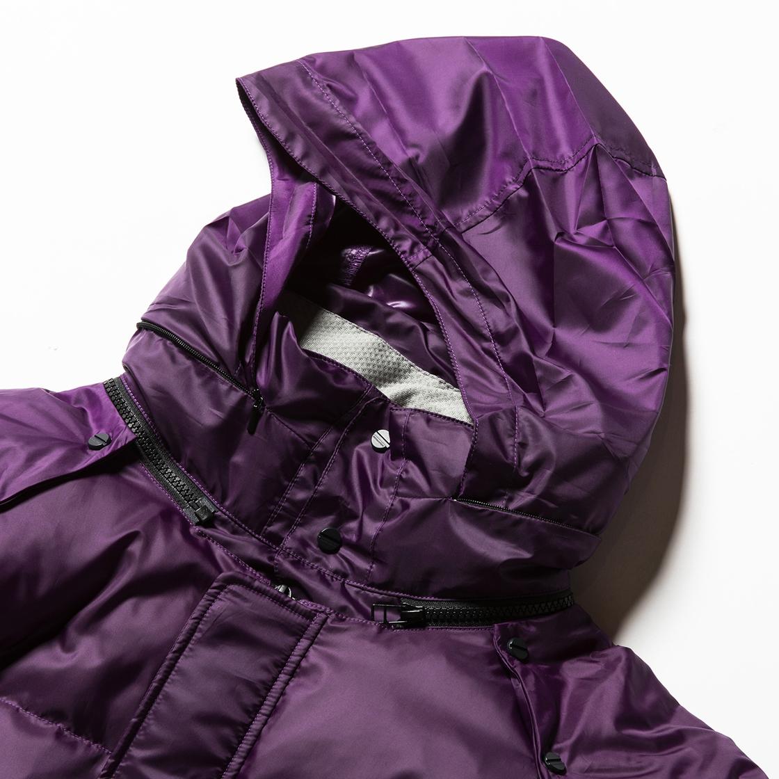 Detachable Down JKT Purple