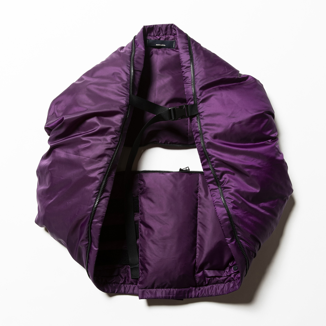 Down Unit Muffler Purple