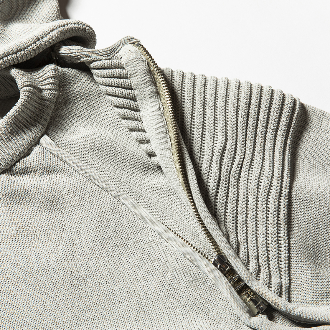 Water-Repellent Detachable Knit Platinum