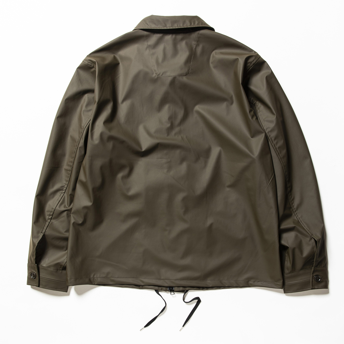 Rubber Cloth Incomplete JKT Brown