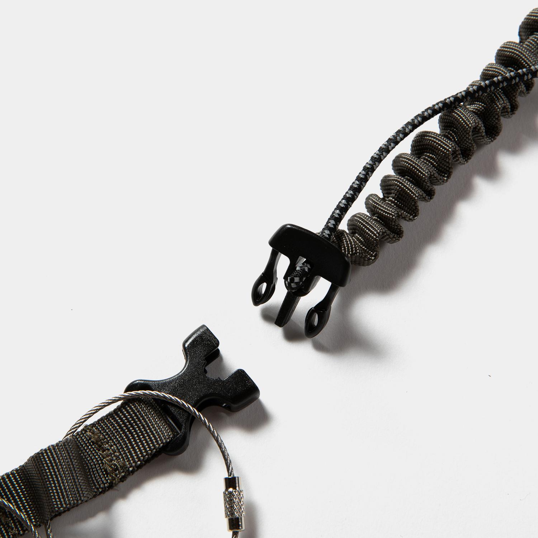 Bungee Leash Neck Strap / Khaki
