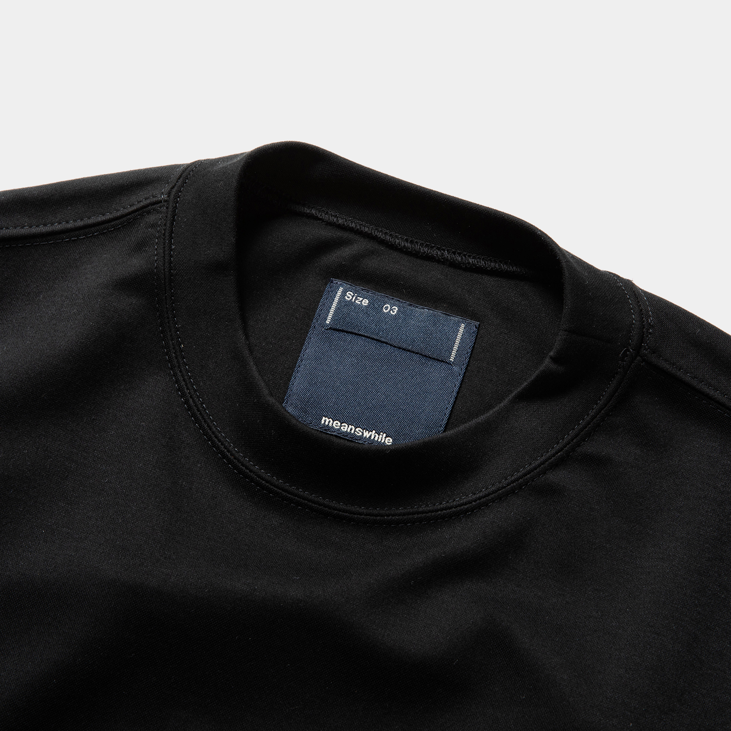 Dry Smooth Sweatshirt / Off Black