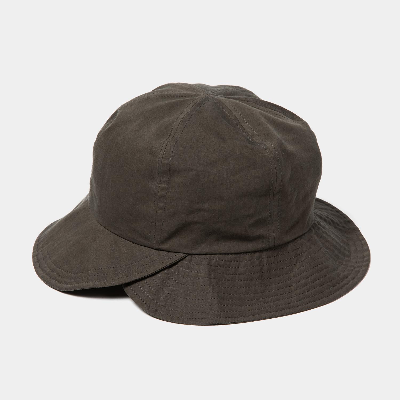Split 6 Panel Hat / Charcoal