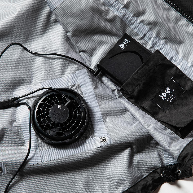 Air Circulation System Shell JKT / Off Black