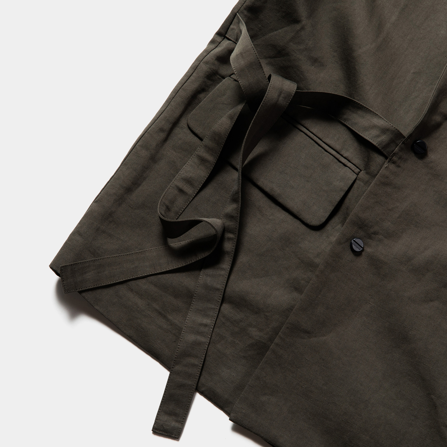 """Duality Cloth Working Outfit """"SAMUE"""" / Charcoal"""