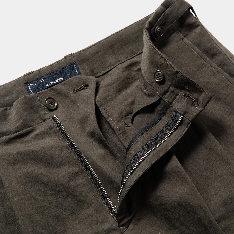 Duality Cloth Cargo Slacks / Charcoal