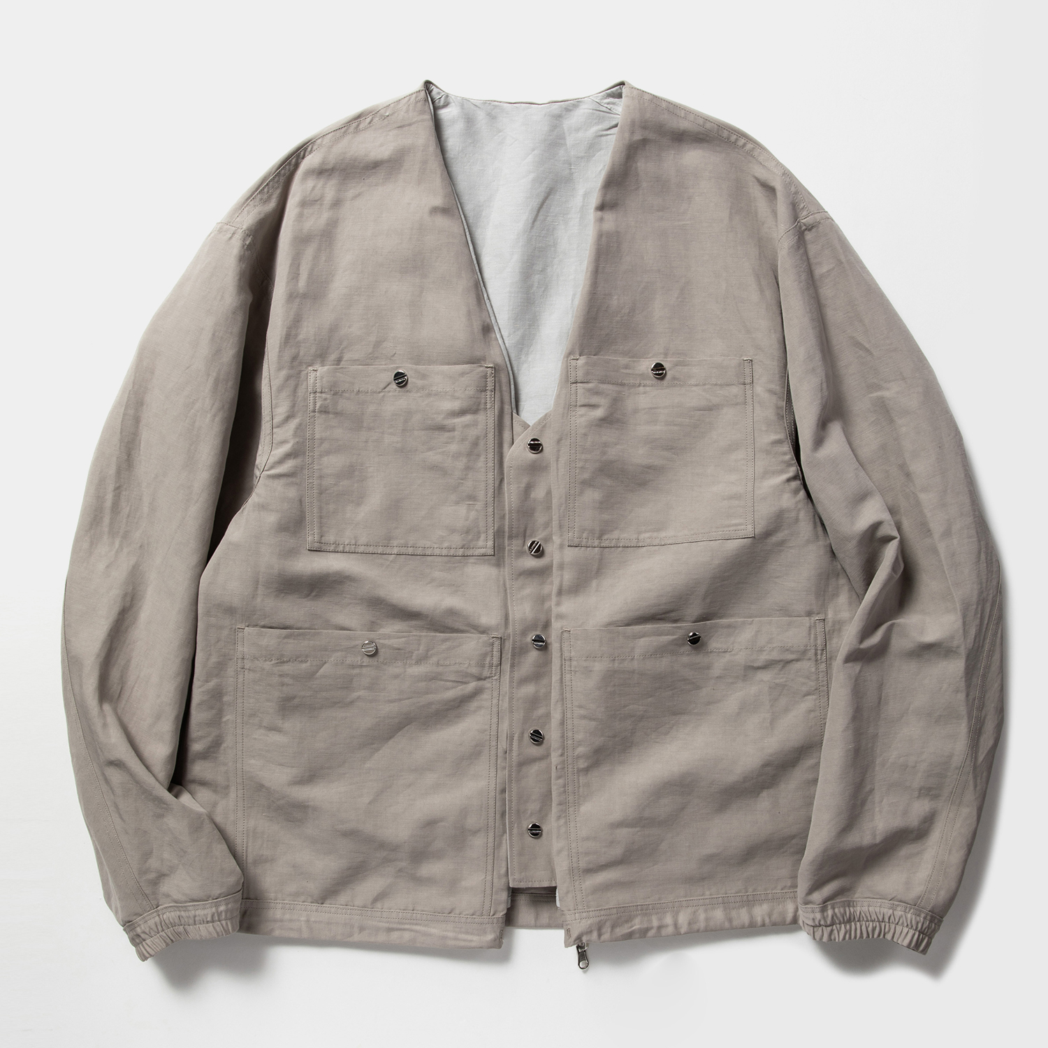 Duality Cloth Reversible 4Way JKT / Grey