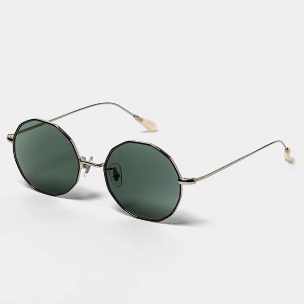 Transition Color Glasses / Black/Green