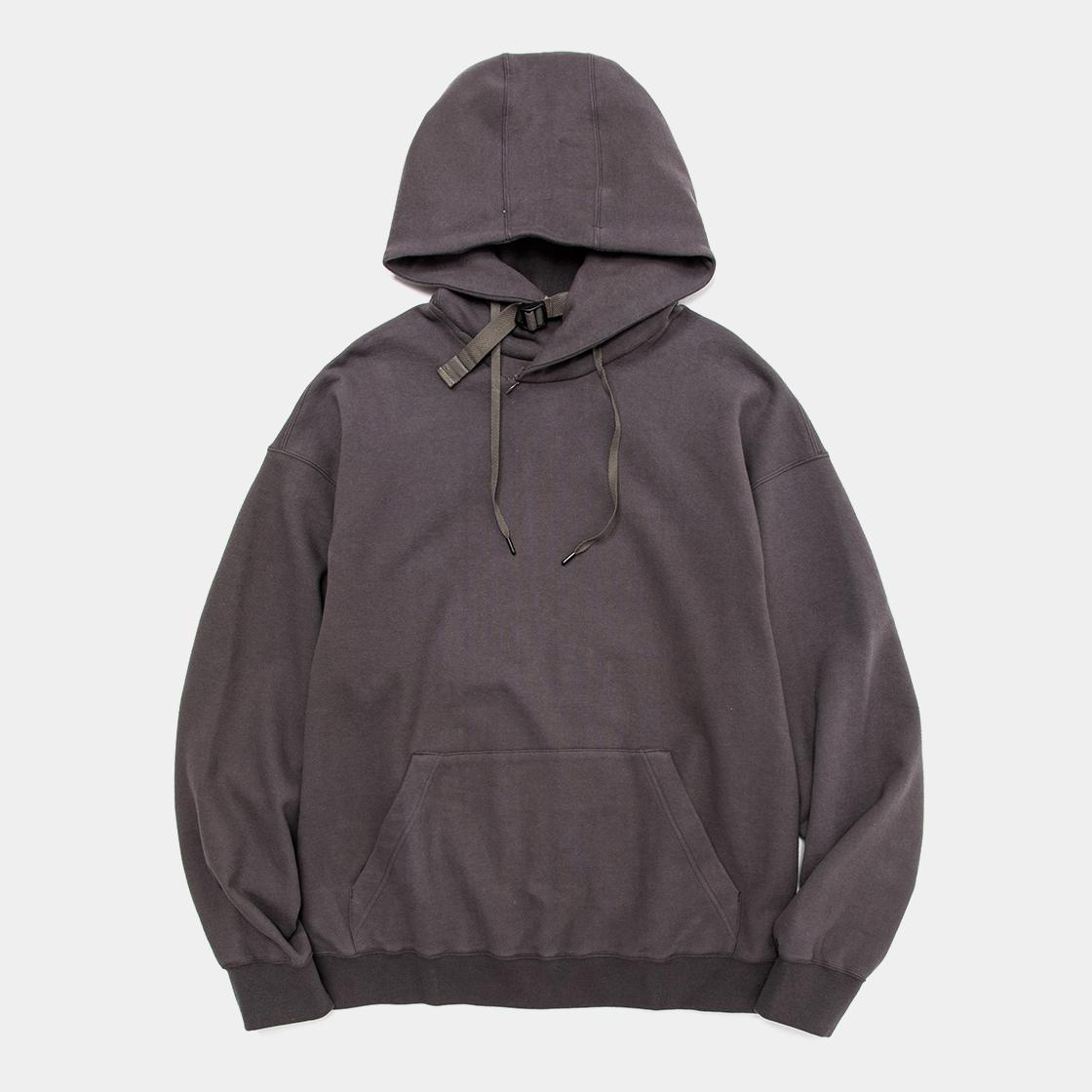Open Hooded Sweat SH / Charcoal