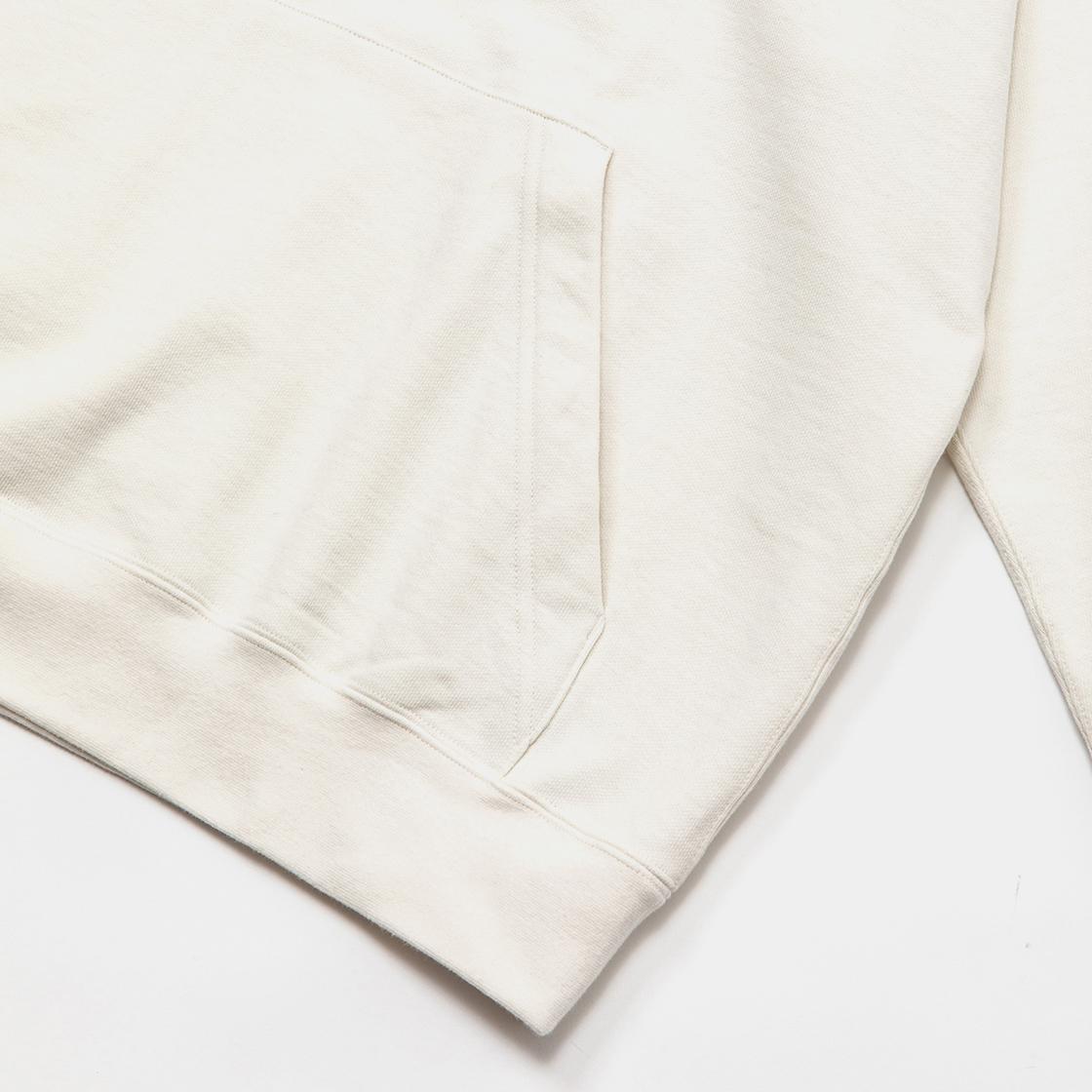 Open Hooded Sweat SH / Off White