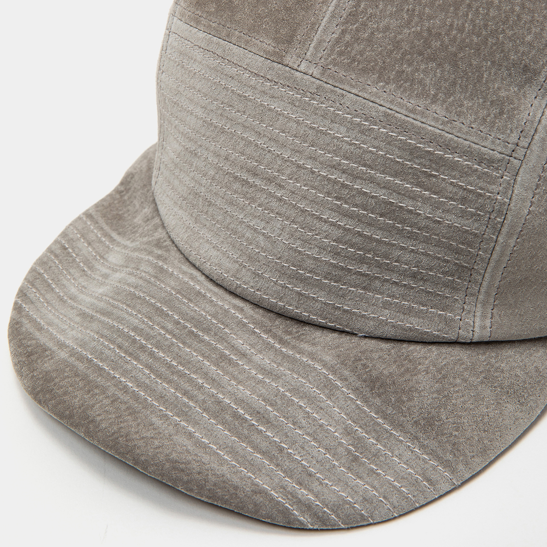 Suede Jet Cap / Grey