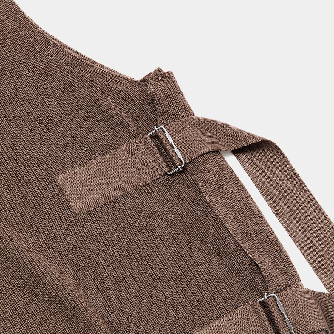 Cupra Knit Vest / Brown