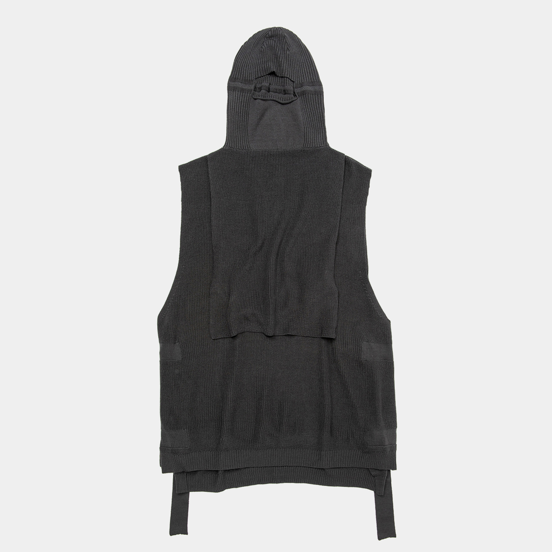 Cupra Knit Vest / Charcoal