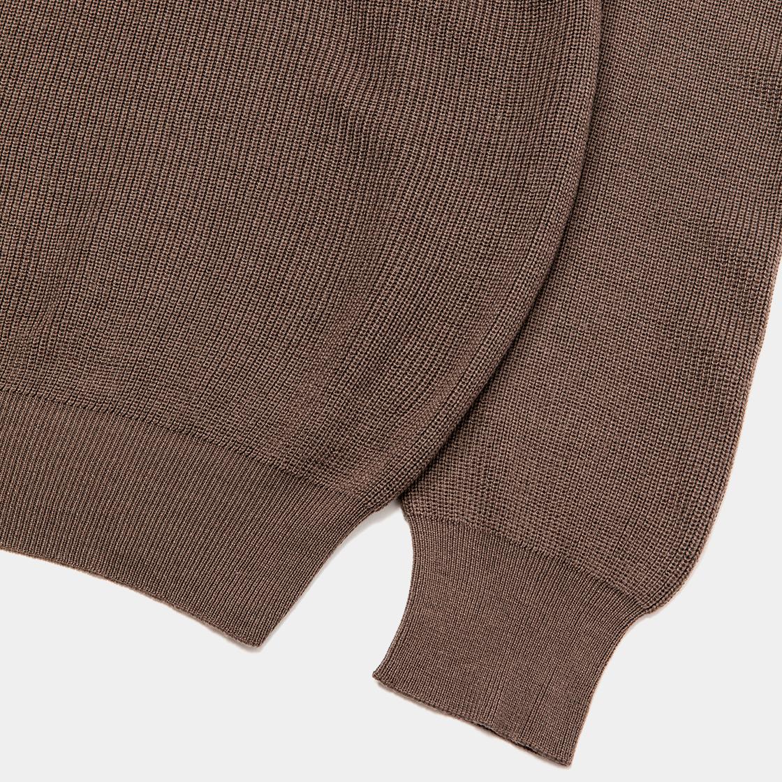 Cupra OP High Neck Knit / Brown