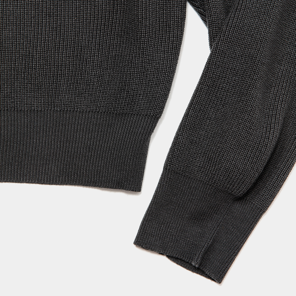 Cupra OP High Neck Knit / Charcoal