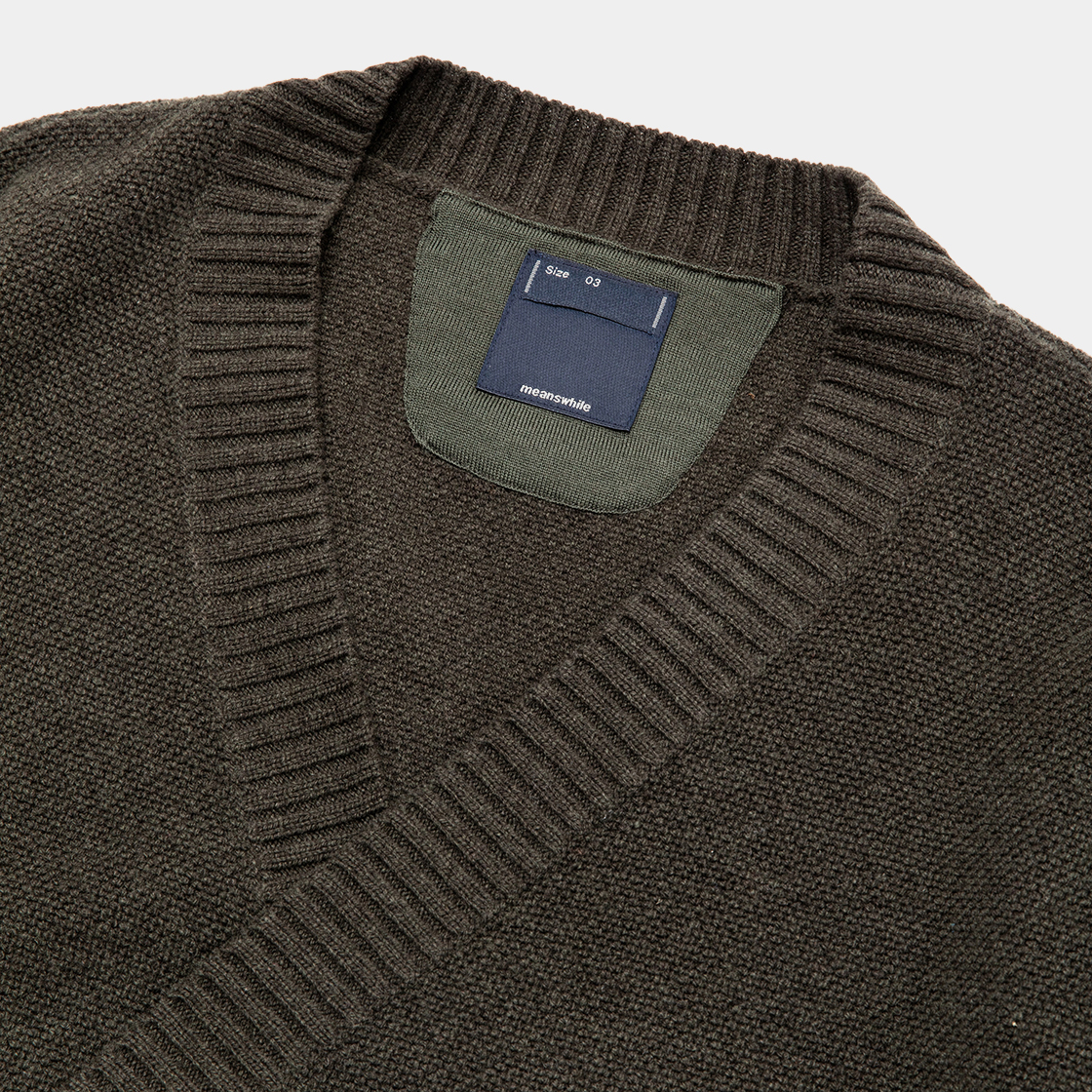 Double Knit Cardigan / D.Forest