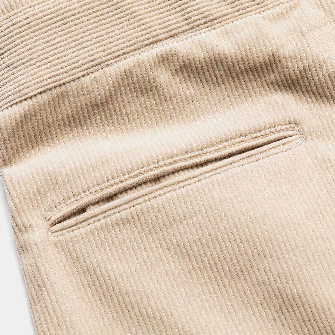 Corduroy Fat Wrap PT / Off White