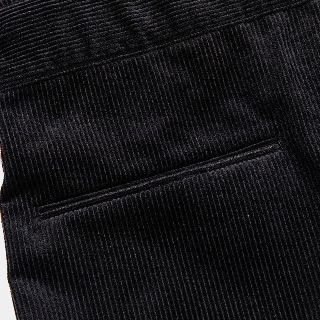 Corduroy Fat Wrap PT / Off Black