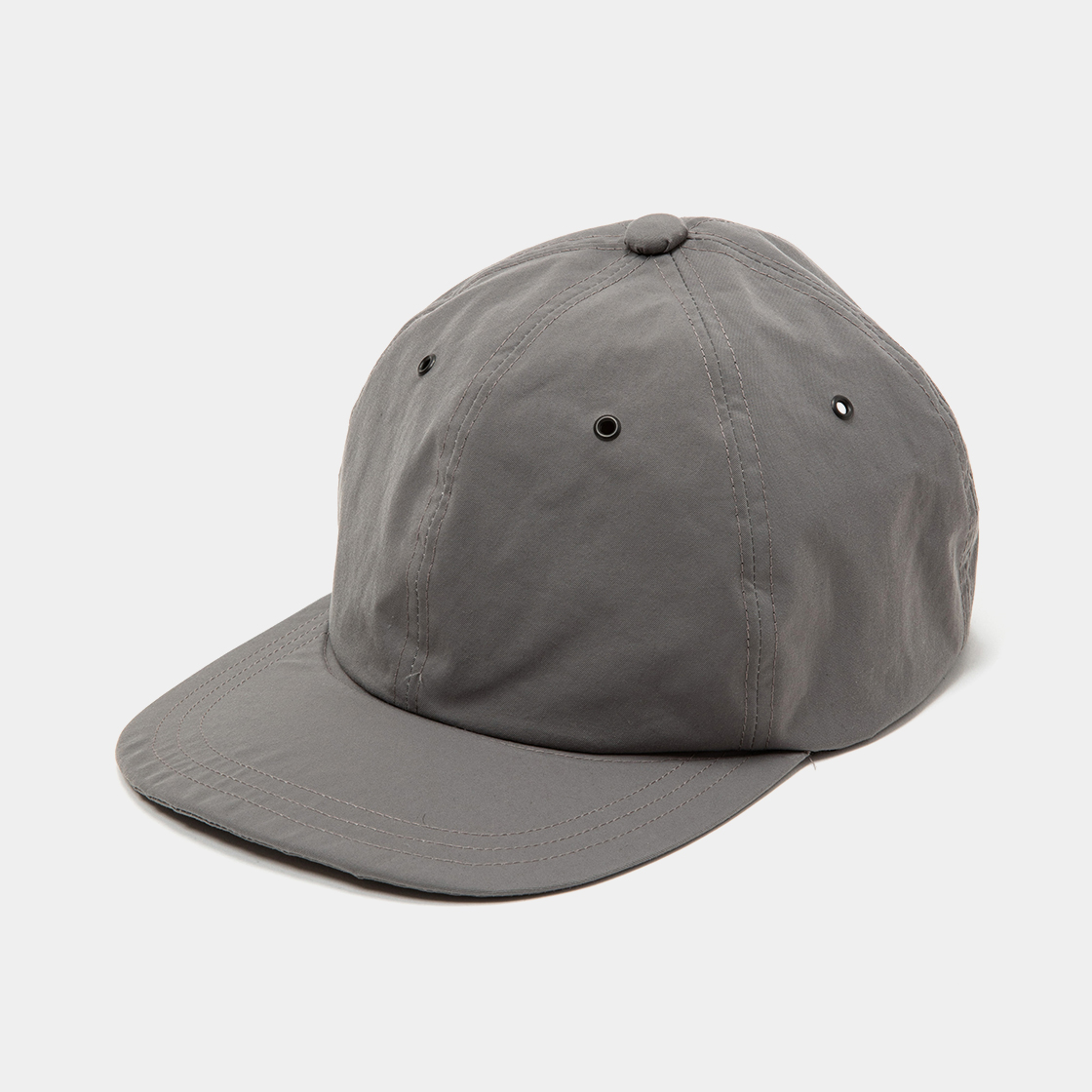 Crisp 6Panel Cap / Grey