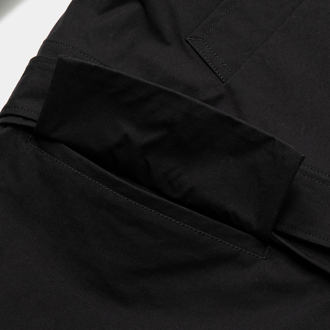 Crisp Split Overcoat / Sumi