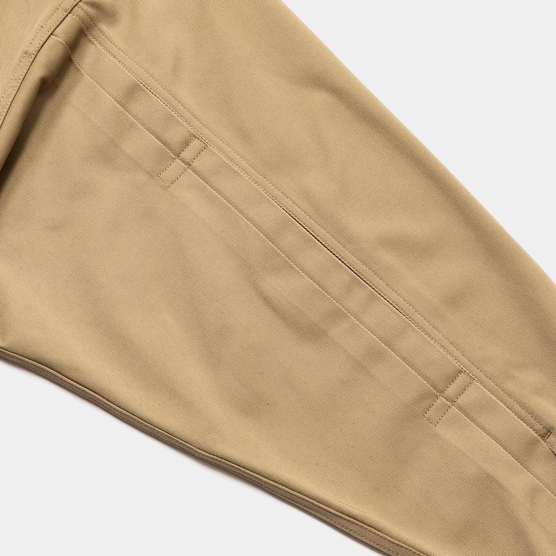 Pleated Sleeve Blouse×Dickies® / Beige