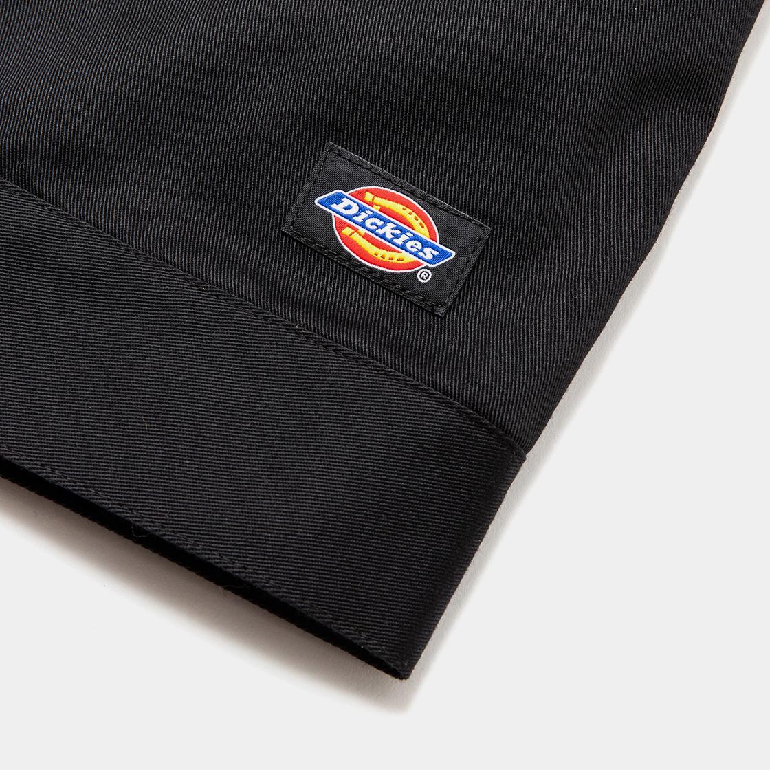 Pleated Sleeve Blouse×Dickies® / Black