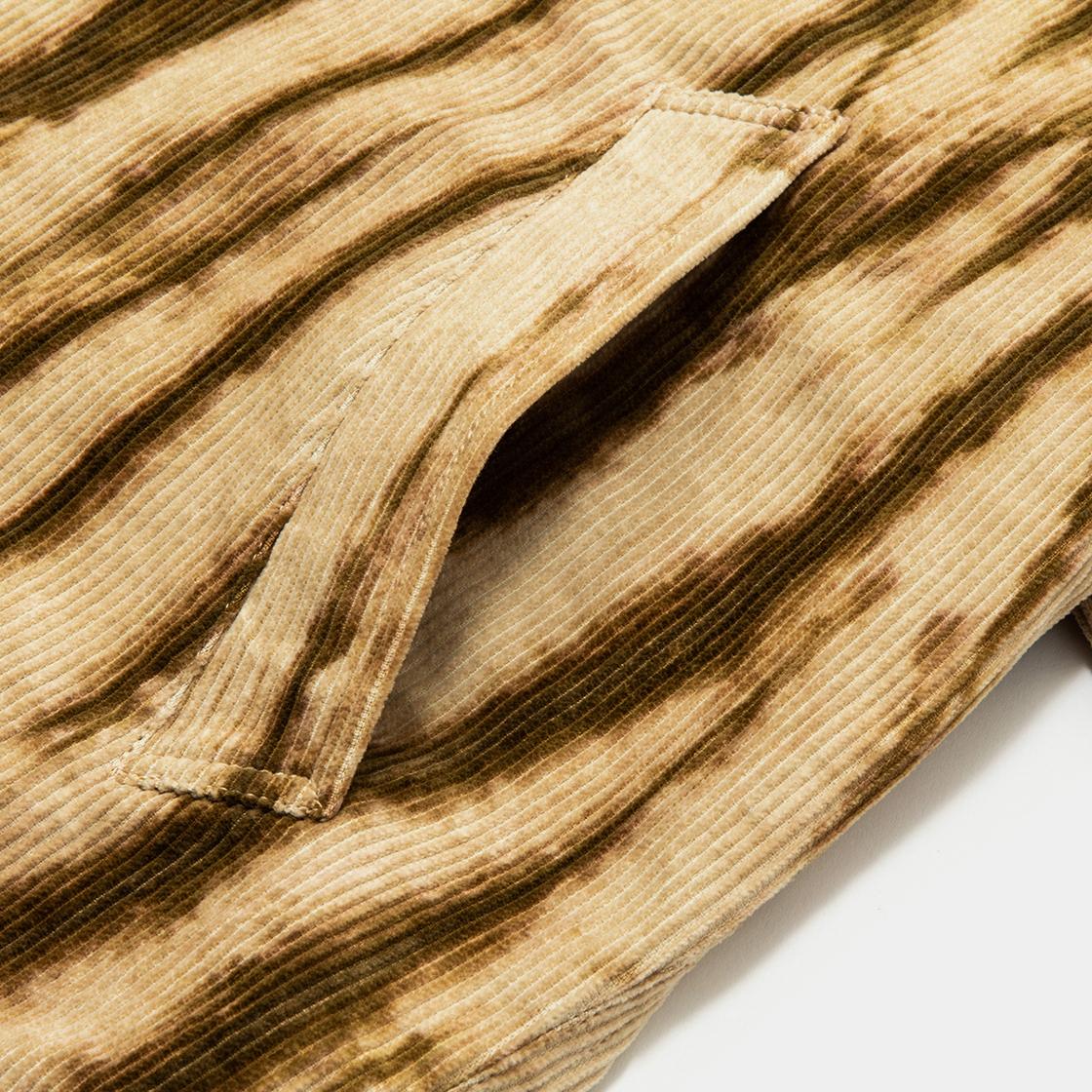 Dyed Corduroy Big Flap Blouson /  Stratum