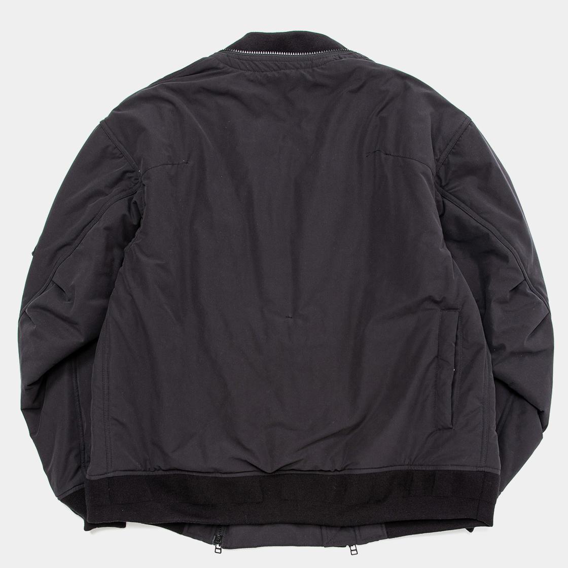 Loop Zip MA1 / Off Black