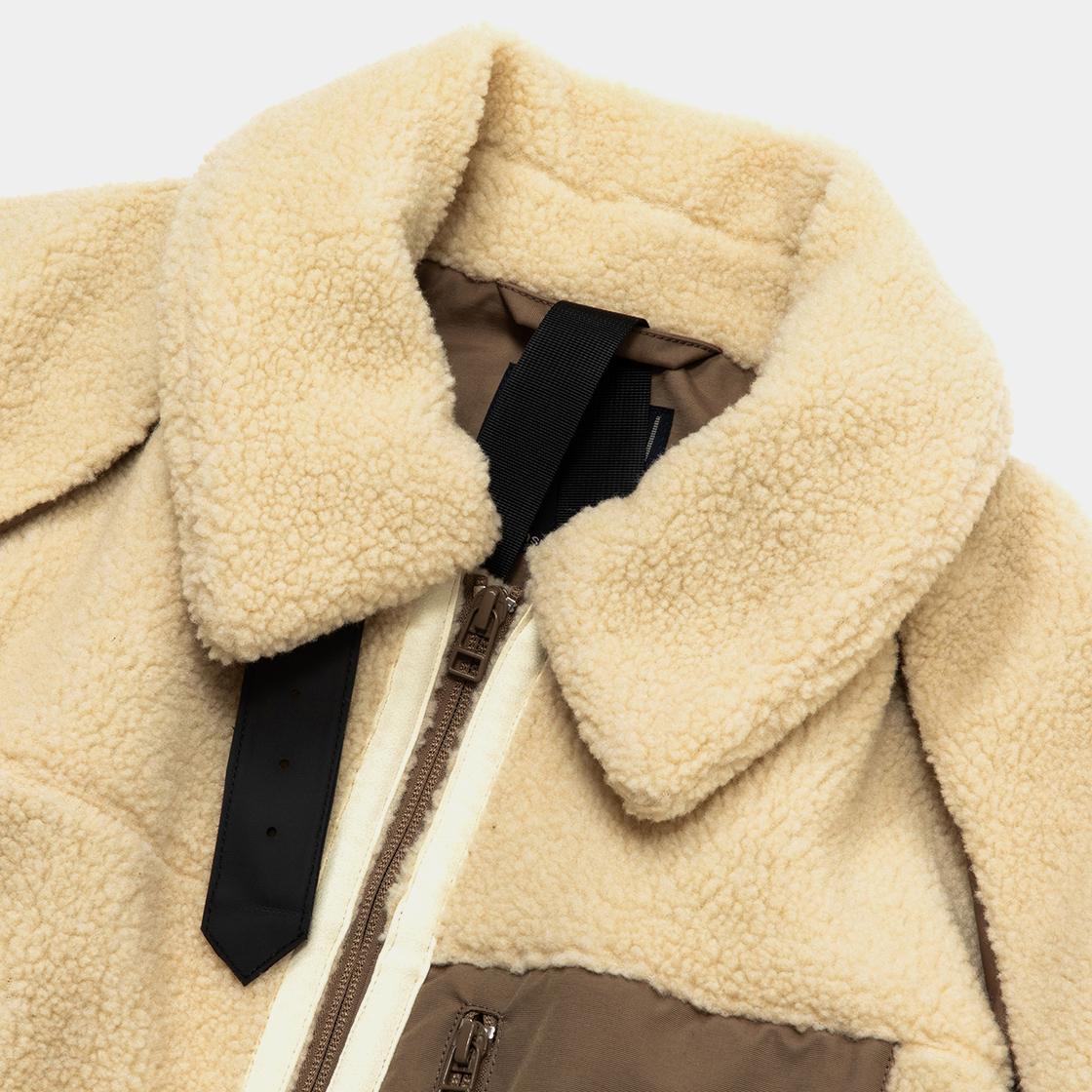 Retro Fleece B3 / Natural