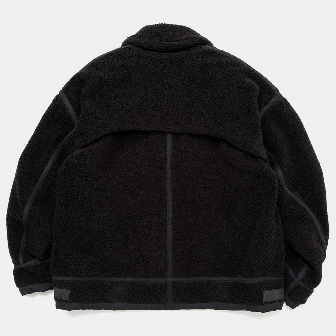 Retro Fleece B3 / Off Black