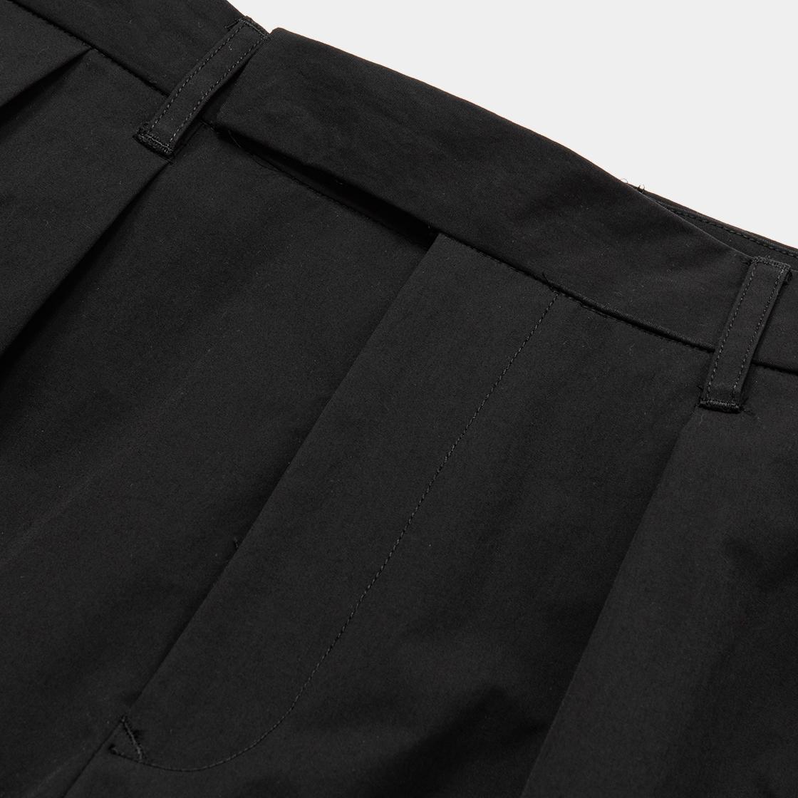 Crisp Blur Trouser / Sumi