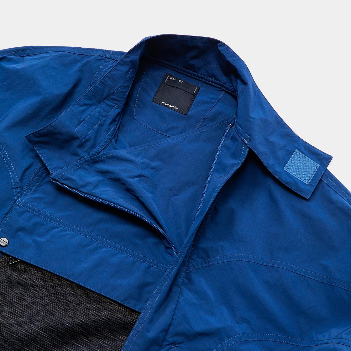Tech Ripstop Combine SH / Ink Blue